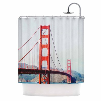 Chelsea Victoria the Golden Great Shower Curtain