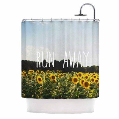 Run Away Shower Curtain