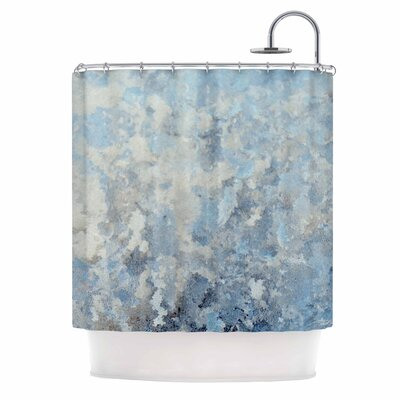 Chelsea Victoria Frosted Marble Photography Shower Curtain