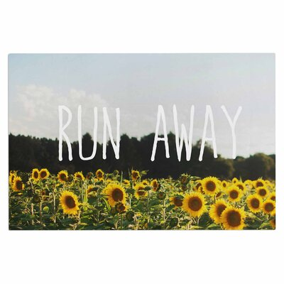 Chelsea Victoria Run Away Travel Typography Doormat