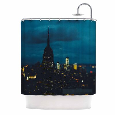 Chelsea Victoria New York Nights Photography Shower Curtain