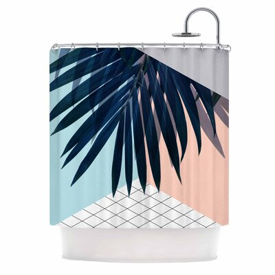 Cafelab Pastel Geometry Shower Curtain