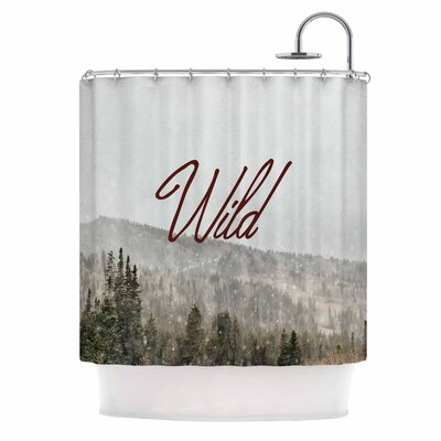 Chelsea Victoria Winter Wild Photography Shower Curtain