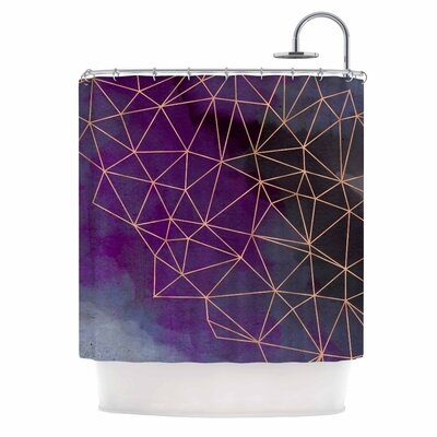 Cafelab Watercolor Storm Shower Curtain