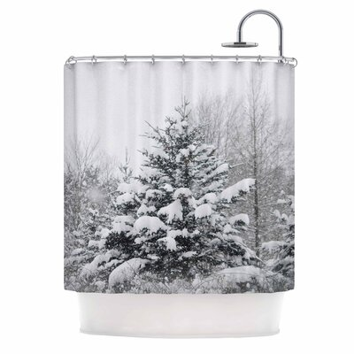 Cool Yule Photography Shower Curtain