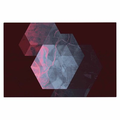 Cafelab Dramatic Geometry Geometric Doormat