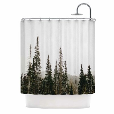 Top Of The Mountain Photography Shower Curtain
