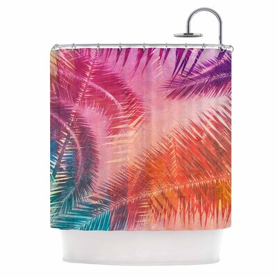 Cafelab Pop Tropical Abstract Shower Curtain