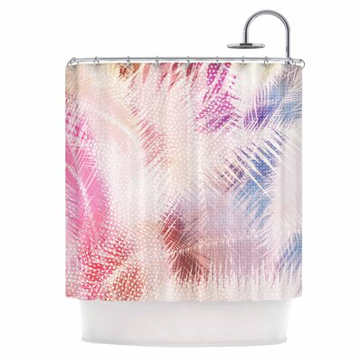 Cafelab Sweet Tropical Abstract Shower Curtain