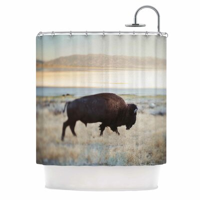 Buffalo Bill Photography Shower Curtain