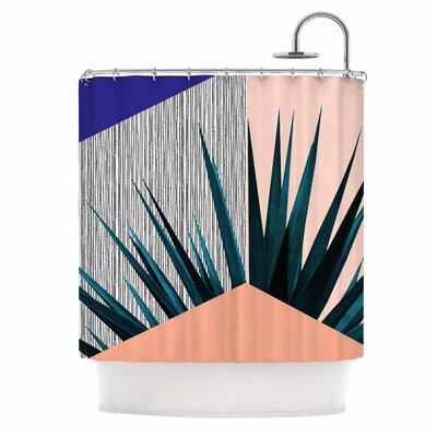 Cafelab Summer Geometry Shower Curtain