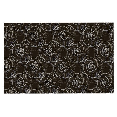 Mydeas Nautical Breeze Spiral Swirls Doormat