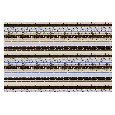 Mydeas Nautical Breeze Sandy Stripes Doormat