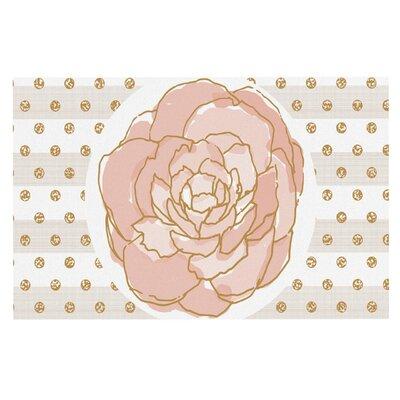 Pellerina Watercolor Peony Floral Doormat