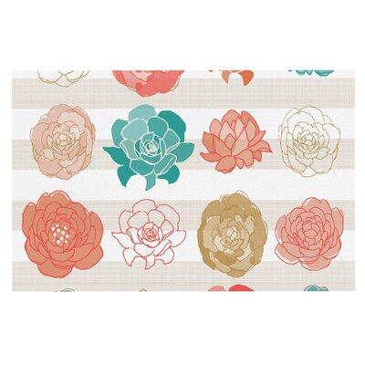 Pellerina Flower Square Floral Doormat