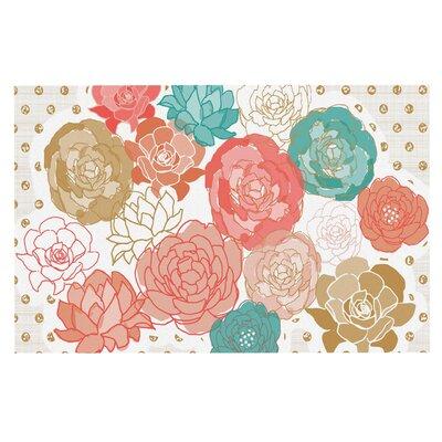 Pellerina Spring Florals Blush Peony Doormat