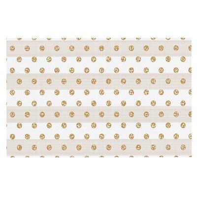 Pellerina Linen Polka Stripes Dots Doormat