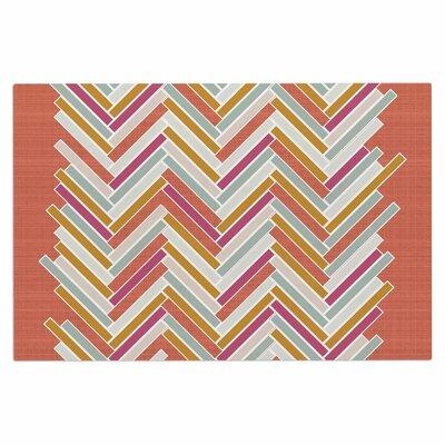 Pellerina Herringbone Weave Bold Vector Doormat