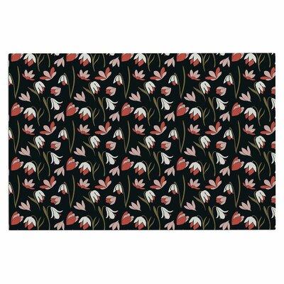 Mayacoa Studio Lilies Field Floral Doormat