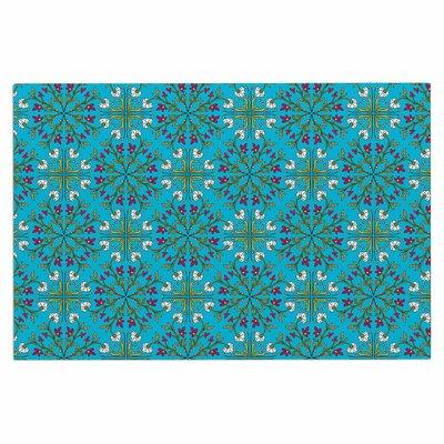 Mayacoa Studio Morrocan Tile in Geometric Floral Doormat