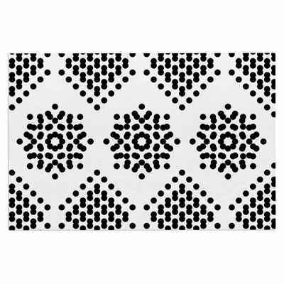 Tiny September Dot Party Digital Doormat