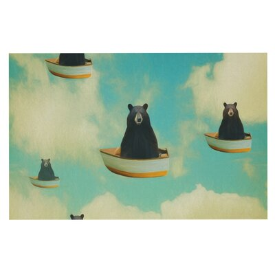 Natt Bears Floating Animals Doormat