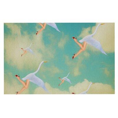 Natt Swan Doormat