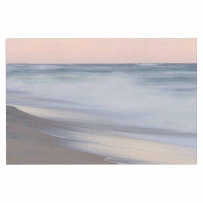 Horizon Studio Pastel Sea Pastel Coastal Photography Doormat
