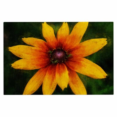 Ginkelmier Wildflower in Sun Photography Doormat