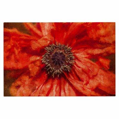 Ginkelmier Poppy Floral Doormat