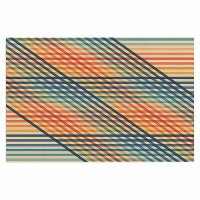 Fimbis OvrlapToo Lines Doormat