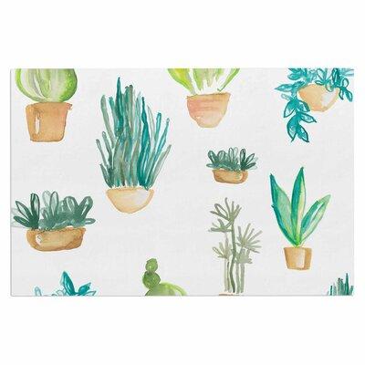 Jessi Blake Plants and Cacti Illustration Doormat