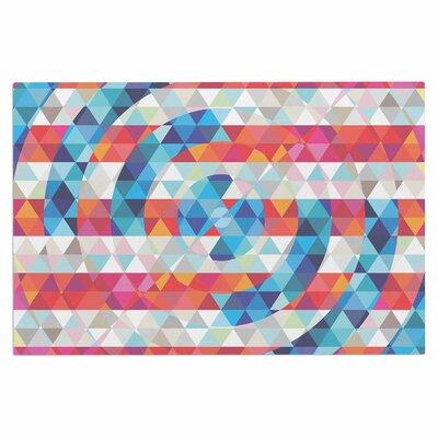 Fimbis Abstract America Digital Doormat
