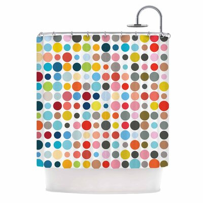 Fimbis Tangled Up in Colour Shower Curtain
