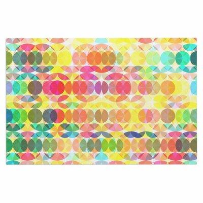 Fimbis SercuelarToo Geometric Circles Doormat