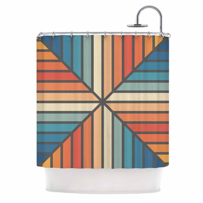 Fimbis Celebration Shower Curtain