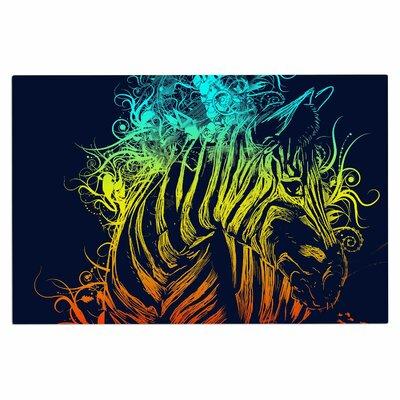 Frederic Levy-Hadida Wild Nature Rainbow Zebra Doormat