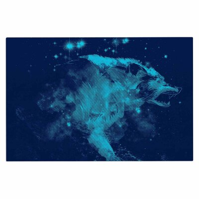 Federic LevyHadida Predation instinct II Wolf Doormat