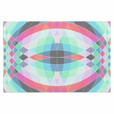 Fimbis Jazar Abstract Geometric Doormat