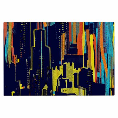 Frederic Levy-Hadida Strippy City Doormat