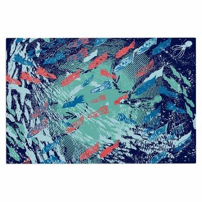 Frederic Levy-Hadida Underwater Life Fish Doormat