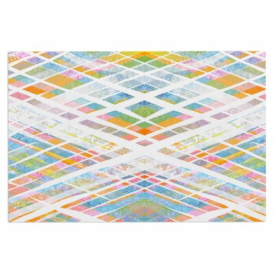 Frederic Levy-Hadida Losanges 2 Pastel Digital Doormat