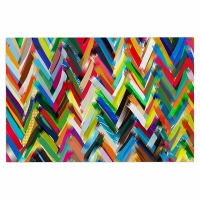 Frederic Levy-Hadida Chevrons Rainbow Doormat