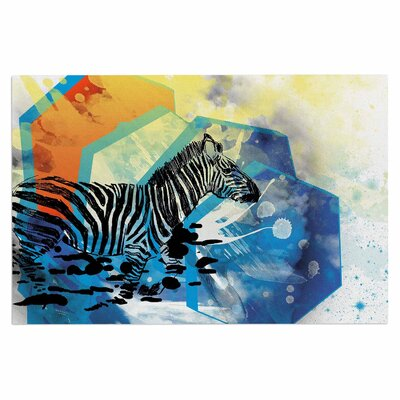 Frederic Levy-Hadida Walk off the Colors Zebra Doormat