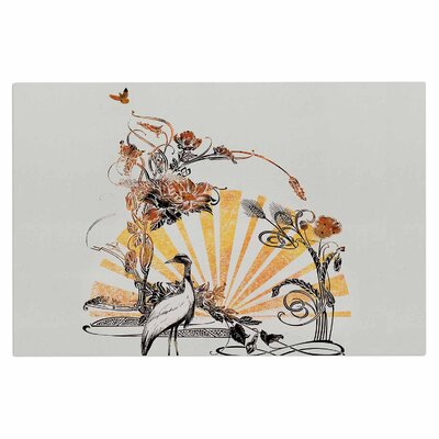 Federic LevyHadida Art Nouveau Tune Doormat