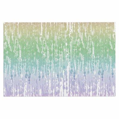 Frederic Levy-Hadida Rainbow Drops Pastel Digital Doormat