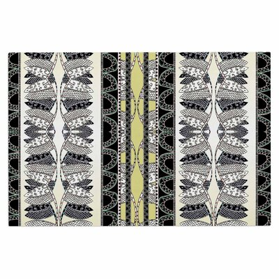 Fernanda Sternieri Oriental Stripes Digital Doormat