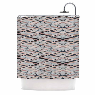 Fernanda Sternieri Move Abstract Shower Curtain