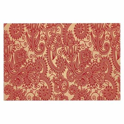 Fotios Pavlopoulos Floral Loop Doormat