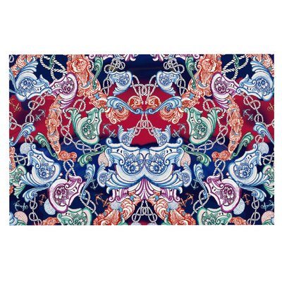 Fernanda Sternieri Barroque Sea Abstract Doormat